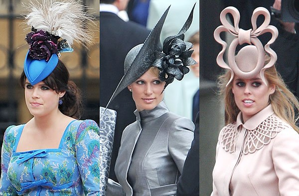 The Royal Wedding -- What is it About English Hats  - London Perfect 0d354fd5c89