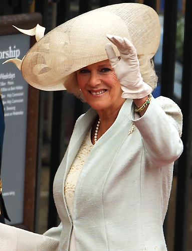 Beautiful Hat On Camilla