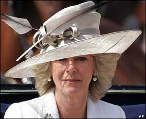 Bit topper style hat for Camilla