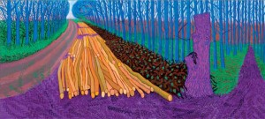 "David Hockney's ""Winter Timber, 2009"" painting will be featured in an exhibit at the Royal Academy."