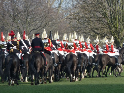 Household Cavalry London Knightsbridge Hyde Park