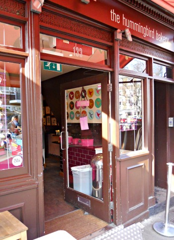 The Hummingbird Bakery on Portobello Road in Notting Hill