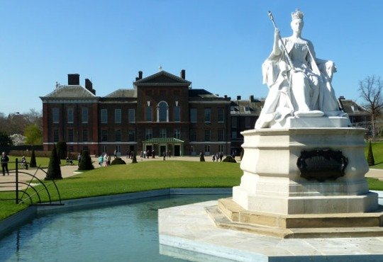 Kensington Palace London Diamond Jubilee Exhibit