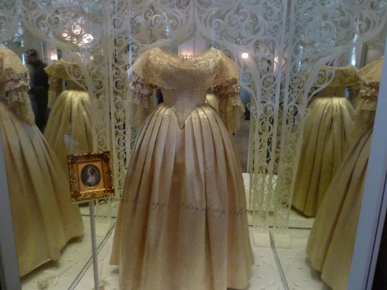 Queen Victoria's wedding dress Kensington Palace London