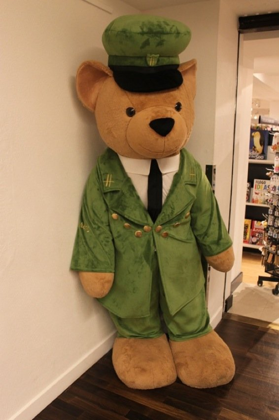 Teddy Bears at Harrods