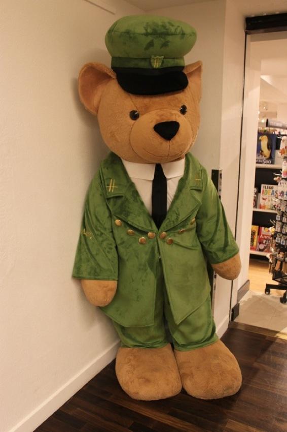 Teddy Bears at Harrods