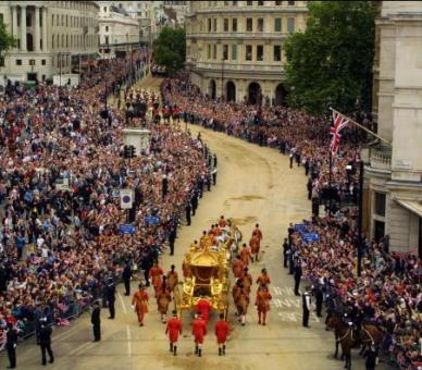 Procession for the Queen's Golden Jubilee