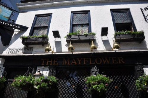 Mayflower Pub in Rotherhithe London