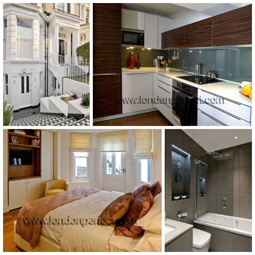 London Two Bedroom Vacation Rental near Shepherds Bush