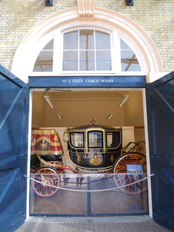 Royal Mews Buckingham Palace London Queen Alexandra State Coach