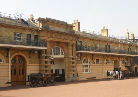 Royal Mews Buckingham Palace London Courtyard