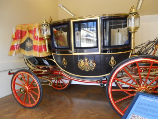 Royal Mews Buckingham Palace London Glass Carriage