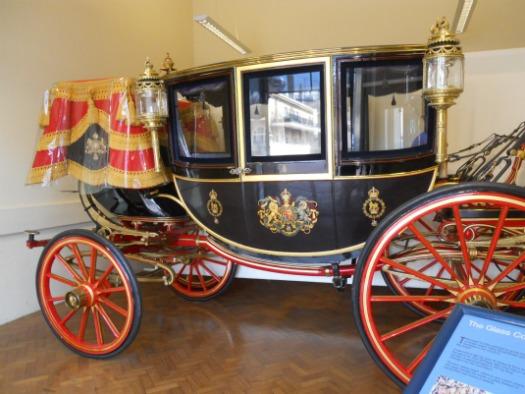 Royal Mews Buckingham Palace London Glass Carriage