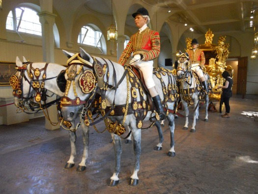 Royal Mews Buckingham Palace London Gold State Coach