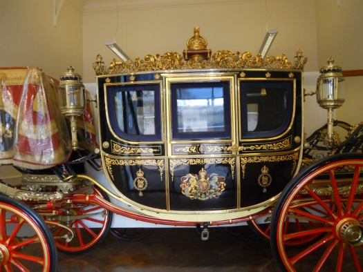 Royal Mews Buckingham Palace London Irish State Coach