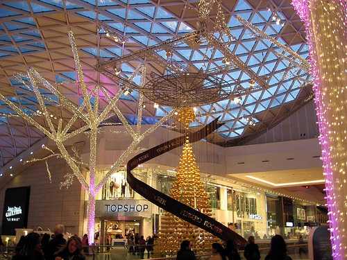 Westfield Shopping Centre In Shepherd S Bush London