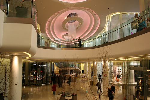 Luxury Shopping in London at Westfield Centre in Shepherd's Bush