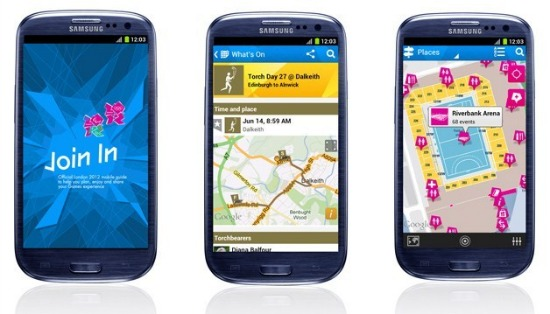 London Olympic Mobile App Join In iPhone Android Blackberry