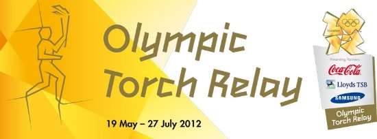 Watch the Olympic Torch Relay through the streets of London!