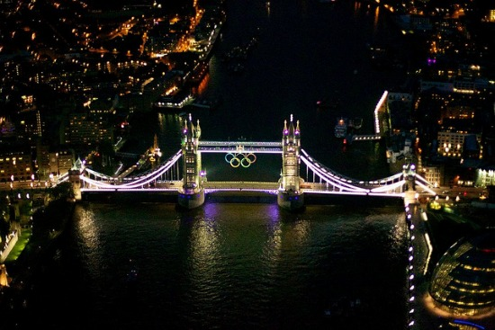 Tower Bridge Lights for London Olympics