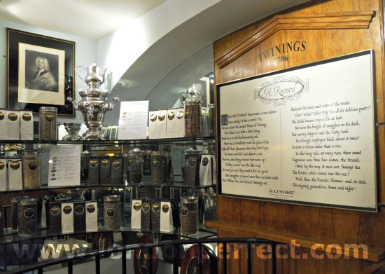 Twinings History Museum in London