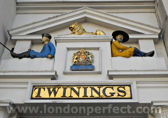 The Original Twinings Tea Shop in London
