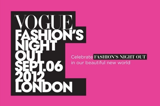 Fashion's Night Out in London 2012