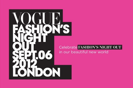 London Shopping | Fashion's Night Out 2012