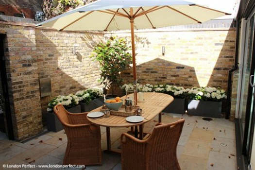 Vacation Rental on London Kensington with Garden