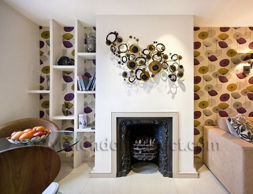 MayFair Dining Room Fireplace London Perfect Vacation Rental