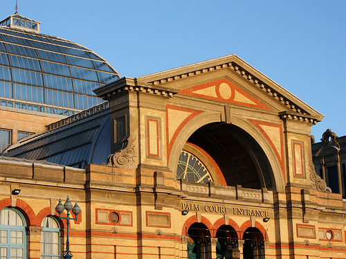 Visit Alexandra Palace in North London