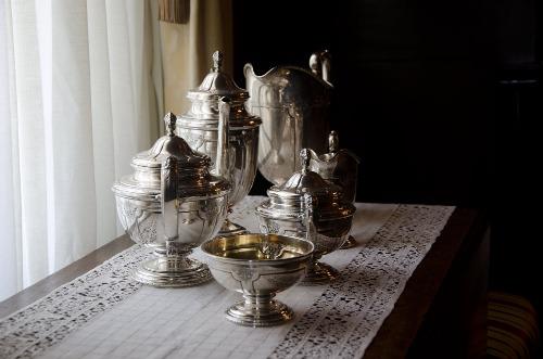 Silver 19th century Tea Service