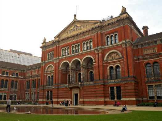 The Courtyard of the V&A Museum South Kensington London