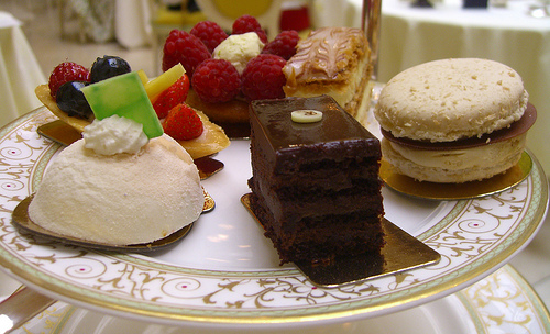 Afternoon Tea at the Ritz London Cakes