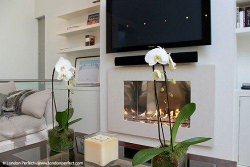London Perfect Chelsea Vacation Rental Fireplace