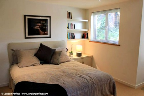 London Perfect Chelsea Vacation Rental Master Bedroom