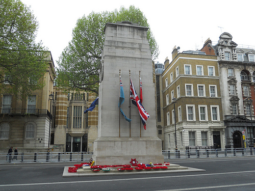 Cenotaph Whitehall Westminster