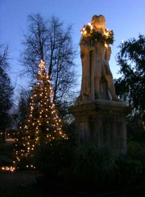 Cheslea Physic Garden Christmas Tree