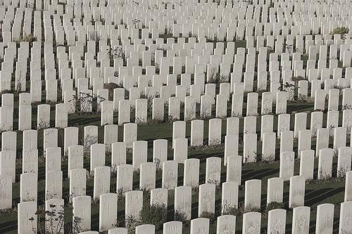 War graves, Ypres, Belgium