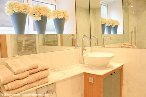 London Perfect Chelsea Vacation Rental Bathroom
