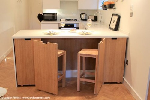 London Perfect Chelsea Vacation Rental Kitchen and Dining Area