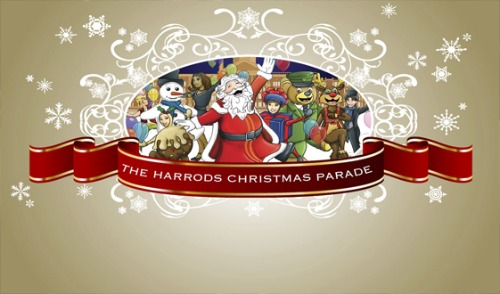 The Harrods Christmas Parade 2012