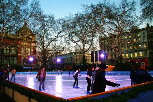 Natural History Museum Ice Rink South Kensington
