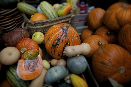 Pumpkins at Borough Market London