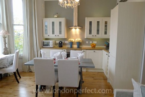 London Perfect Chelsea Vacation Rental Beautiful Kitchen