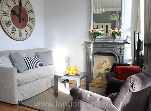 London Perfect Chelsea Vacation Rental Cozy Living Room