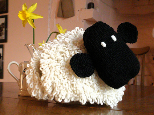 Cute Sheep Tea Cosy for Teapot