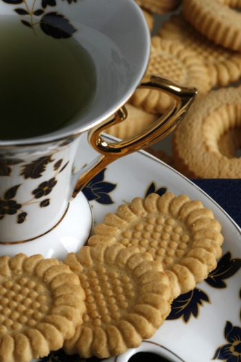 Tea with Biscuits in London
