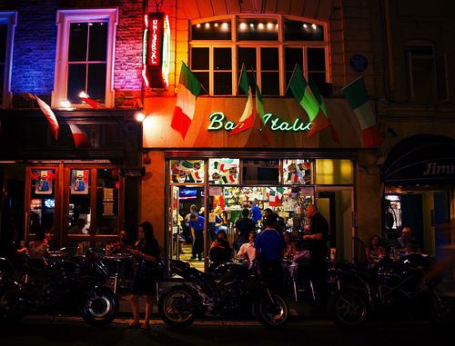 Bar Italia in Soho London