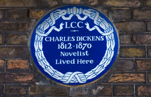 Charles Dickens House in London